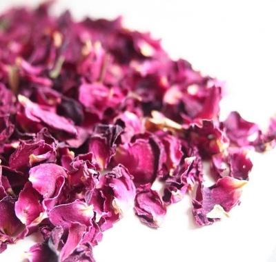 цветы съедобным сушеные хлопья РОЗОВЫЙ ПАХНУТ роза 50g