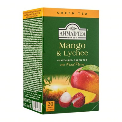 Ahmad Tea Зеленый Чай Манго &Личи 20tb
