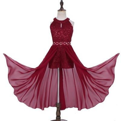 Sukienka Letnia Wizytowa Przyjecie Wesele 140 6261905974 Oficjalne Archiwum Allegro