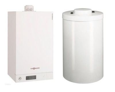 Package Vitodens 100-19kW + Vitocell 100-100L.
