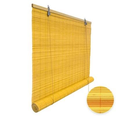 жалюзи Bamboo 80x160cm желтый - ??????????