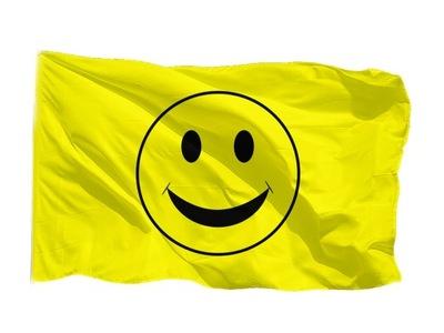 Флаг Улыбка смайлик улыбка 100x60cm