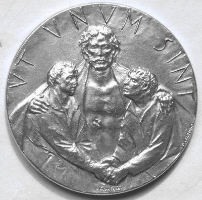 Медаль ??? Святой УТ UNUM SINT 1975 JP VI Ватикан!
