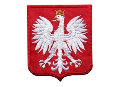 Герб  ОРЕЛ, полоса, термо _ _ или липучка .