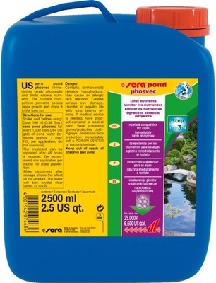 Syr z VODY odstraňuje fosforečnany RIASY Očko Rybník 2.5 L