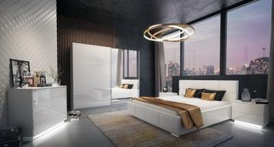 Спальня ЙОШИ II блеск , комплект шкаф 244 комод