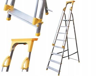 Schody s držadlom 8 stupňov 8-rýchlosť 150kg 3,62 m