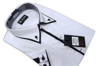 4243 CZARNA Koszula Męska SLIM FIT Japan Style 4699212727  cA6qw