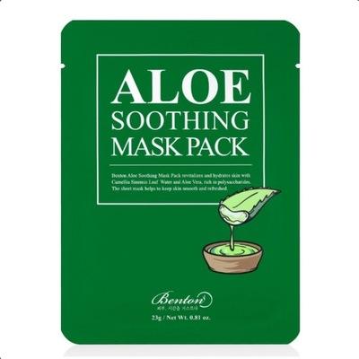 Benton Aloe Soothing Łagodząca maska woda aloesowa