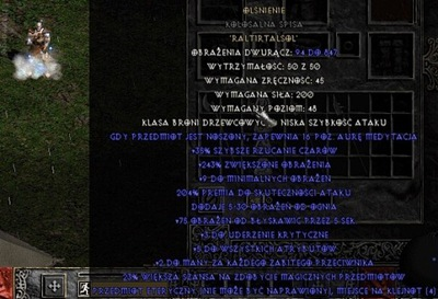 Olśnienie CV Insight LvL 2H (Diablo 2 Non-Lad)