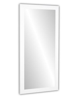 мега зеркало 130x70 Рама белая Венге 12 цвета