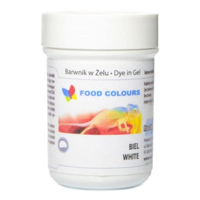 Food Colours Краситель пищевой в желе Белый , 35 ?