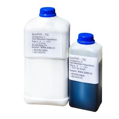 GussPUR-75D Смола пенополиуретан для литье 5 кг