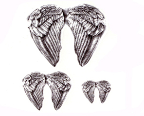 Tatuaż Zmywalny Skrzydła Anioł Doda Angel Wings 7344095029 Allegropl