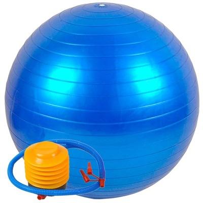 Piłka Gimnastyczna Rehabilitacyjna 75cm + Pompka