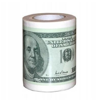 Papier Toaletowy Dolary 100 Usd Nie Zaluj Sobie 6968674682 Oficjalne Archiwum Allegro