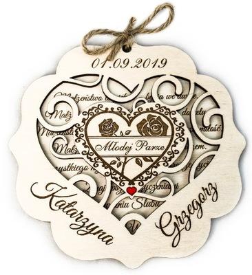 Сувенир венчания, подарок Свадебный, Карточка на свадьба