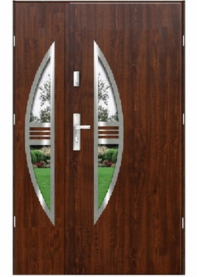 двери Внешние F11 двустворчатые Стали