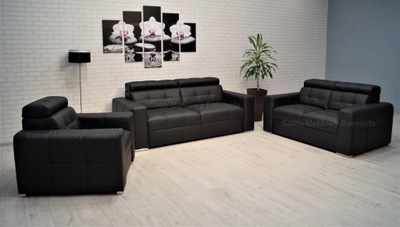 Отдых из кожи 3 -2 -1 Диван диван Кресло кожа