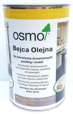 OSMO 3512 ŠKVRNA OLEJ-1 liter STRIEBRO-SIVÉ