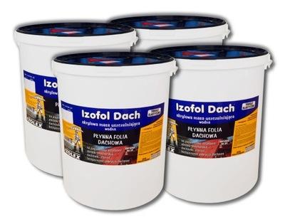Izofol Dach | kvapalina strešné film | 100 kg