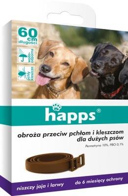Happs воротник против pchłom И КЛЕЩЕЙ 60 см Собака
