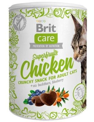 Brit CARE Cat SNACK SUPERFRUITS С КУРИЦЕЙ 100г