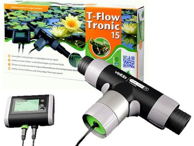 FLOW-TRONIC 15 ELEKTROLIZER МЕДИ НА ВОДОРОСЛИ VELDA