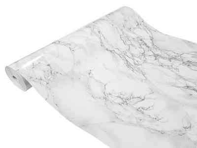 пленка Фанера Мебель Мрамор Серый 90x50 D10