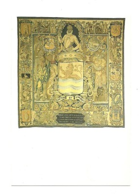 П / я.- гобелен с гербом holend. Зеландии, 1604 года.