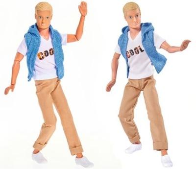 Simba Kevin Cool zginane ręce i nogi Ken - Barbi