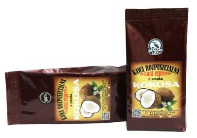 кофе растворимая ?? вкусом со вкусом кокоса