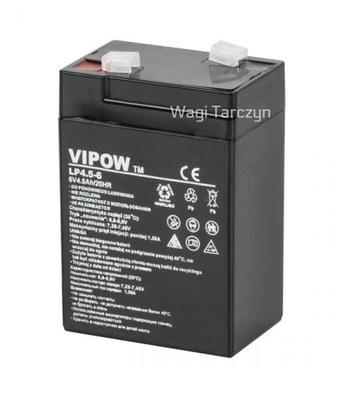 PROFESIONÁLNY gél Batérie VIP 6V 4.5 HMOTNOSŤ