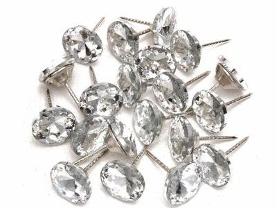 ГВОЗДИ ОБИВОЧНЫЕ гвозди, кристаллы 20 штук