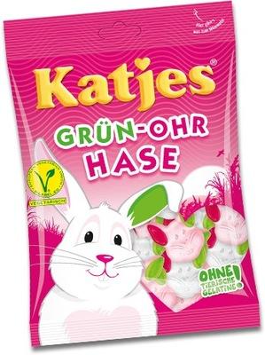 Katjes Grun ohr Hase драже вегетарианский 200г