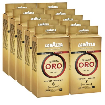 кофе молотая Lavazza Qualita Oro 10x250g