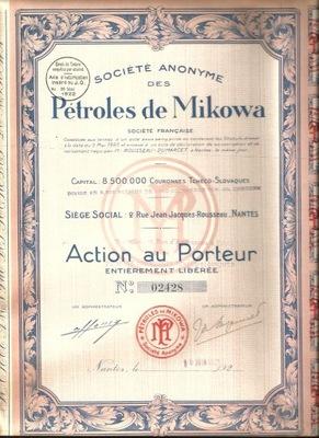 !ШАХТЫ НА НЕФТЬ MIKOWA! НИЗКИЙ БЕСКИД!Словакия !1922!