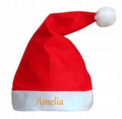 шапка Николая надпись имя, Рождественский подарок