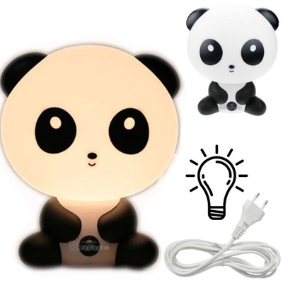лампа ночная ДЛЯ ДЕТЕЙ настольная панда Декоративная