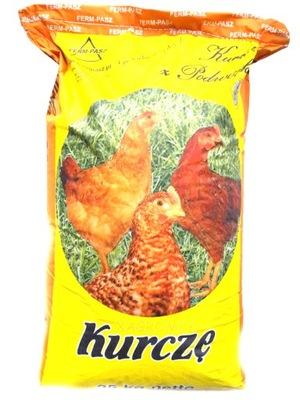 Корм для цыплят от 5 недели корм шрот 25 K