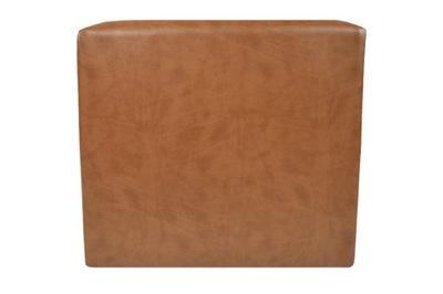 пуф GRAND 40х40 Квадратная коробка  коричневая