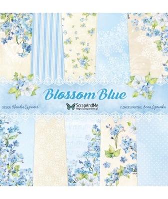 комплект ценных бумаг ??? скрапбукинга Blossom Blue
