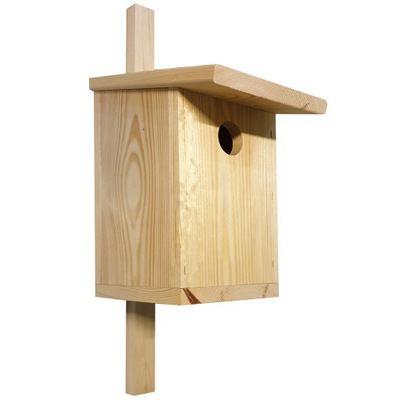 будка гнездования для SZPAKA большой синицы Будку гнездования typuB