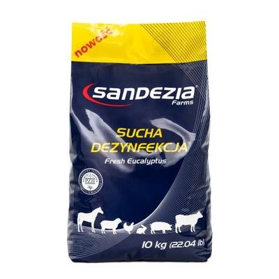 Sandezia сухая дезинфекция 30 кг 3x10kg+ 3xgratis