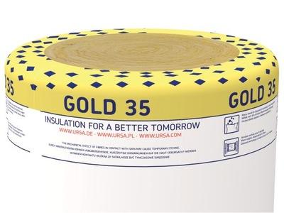 утеплитель вата Ursa GOLD 35 Сто пятьдесят 15