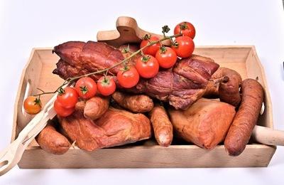 Пасхальное мясное ассорти копченые сельские примерно 4 ,5