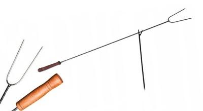 Палки для костра с кольцом вилки поход Сто пятьдесят 10шт