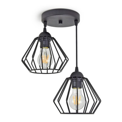 PRÍVESOK svetlo stropné svietidlo LED LUSTER DIAMOND 724-E2