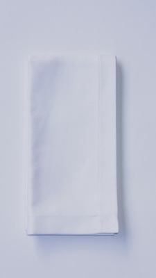 Салфетка гастрономическая хлопковая 40 х 40 белая