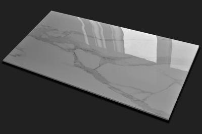 плитки Плитка керамогранит Белый Мрамор 120x60 CERAL